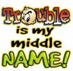 29 - Trouble is my middle name